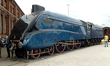 mallard-locomotive